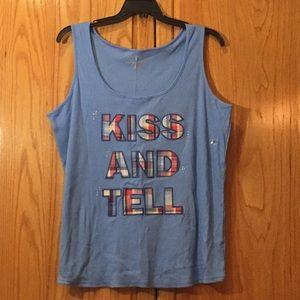 Kiss and Tell sleep tank Multiple Sz  Lane Bryant
